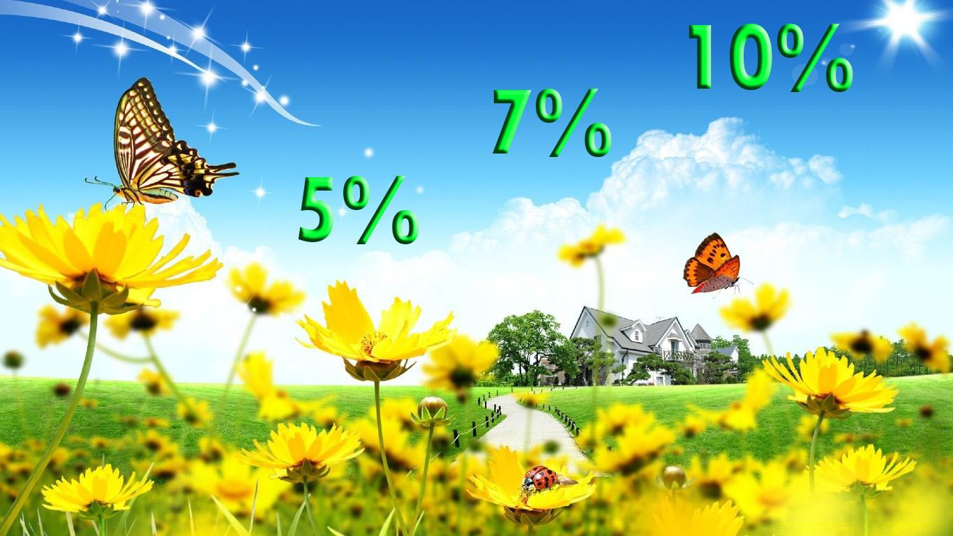 Скидки от 5% до 10%