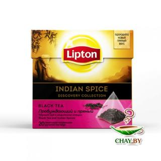 Чай Lipton Indian Spice 20*1,8 г черный