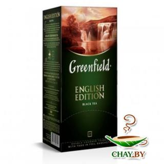 Чай Greenfield English Edition 25*2 г черный