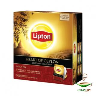 Чай Lipton Heart of Ceylon 100*2 г черный