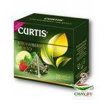 Чай Curtis Strawberry Mojito 20*1.7 г зеленый