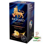 Чай Richard Elegant Ginger 25*2 г черный