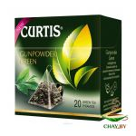 Чай Curtis Gunpowder Green 20*1,8 г зеленый