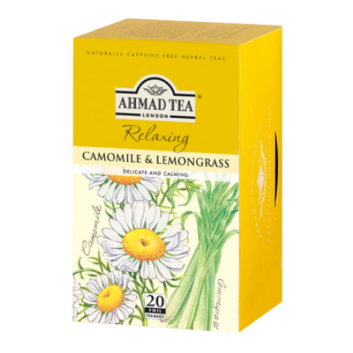 Чай AHMAD TEA Camomile & Lemongrass