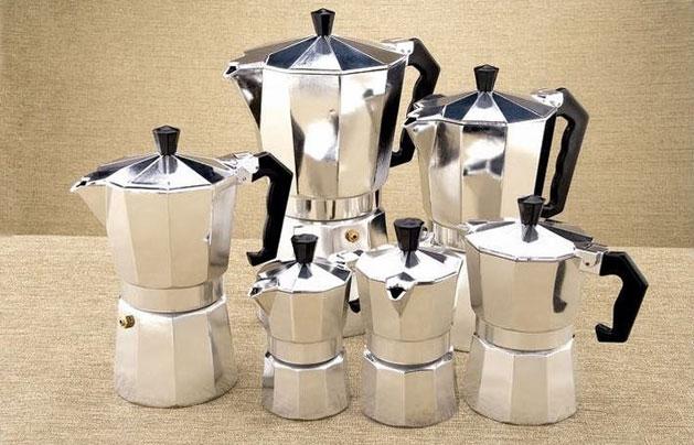 Купить гейзерную кофеварку в Минске