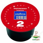 Кофе LAVAZZA Blue Intenso Double Capsule 40% Арабика 160 г. (20 капсул)