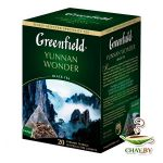 Чай GREENFIELD Yunnan Wonder 20*2 г черный